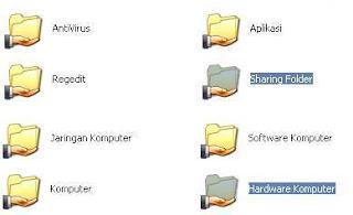 Icon Sharing Folder
