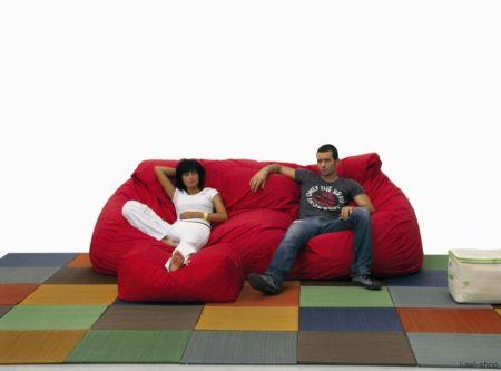 Sportello architettonico cama sof puff for Puff divano