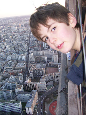 Picture  Atop Eiffel Tower on Ben Atop The Eiffel Tower