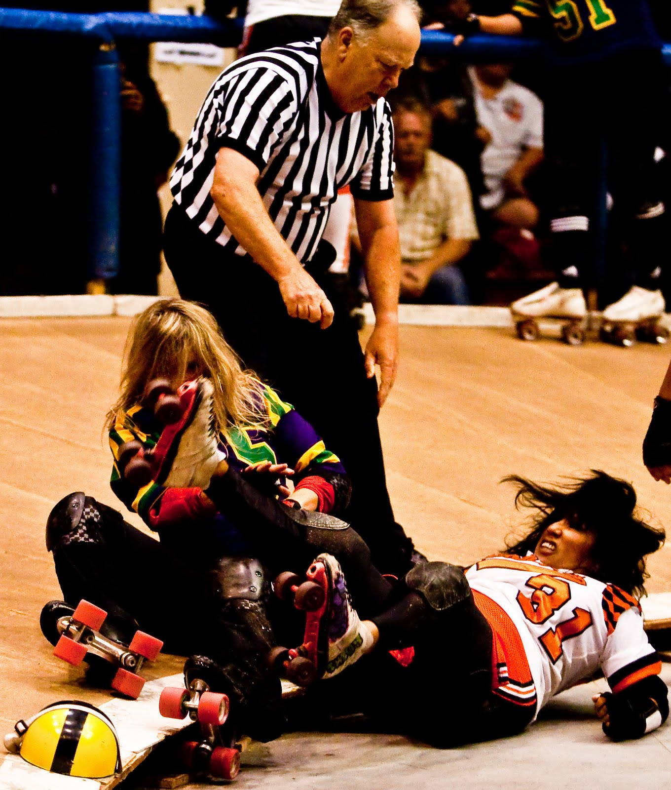 Watch Ann Calvello roller derby video