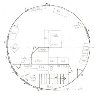 An Alaskan Family With A Yurt Yurt Floor Plans And Loft Plans
