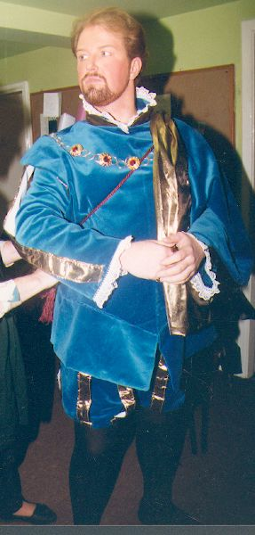 Donal as the Duca di Mantua - Rigoletto