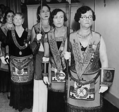 Consagraçao de Templo Maçônico para Mulheres