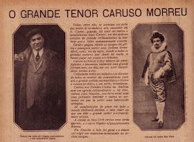 Opera Per Tutti A Morte De Caruso