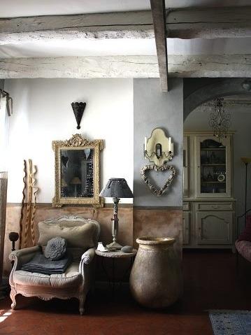 La maison boheme coeur en provence - Decoration interieur mas provencal ...