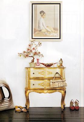 La Maison Boheme White And Gold For Winter