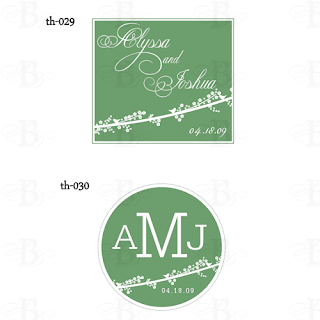 wedding monogram design logo bird