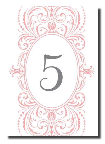 Belletristics stationery design and inspiration for the for Table design numbers