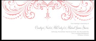 custom flourish ceremony program cover