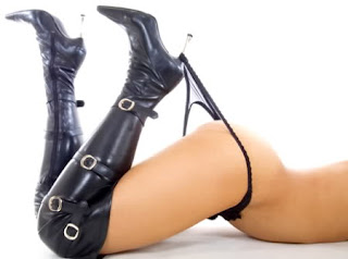 Louise Panties boots Ebony Black