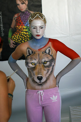 Animal Festival Body Painting