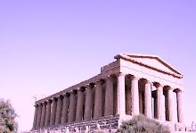 Templo grego clássico da Concórdia