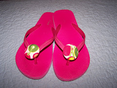 New Monogrammed Flip Flop (No Bow)
