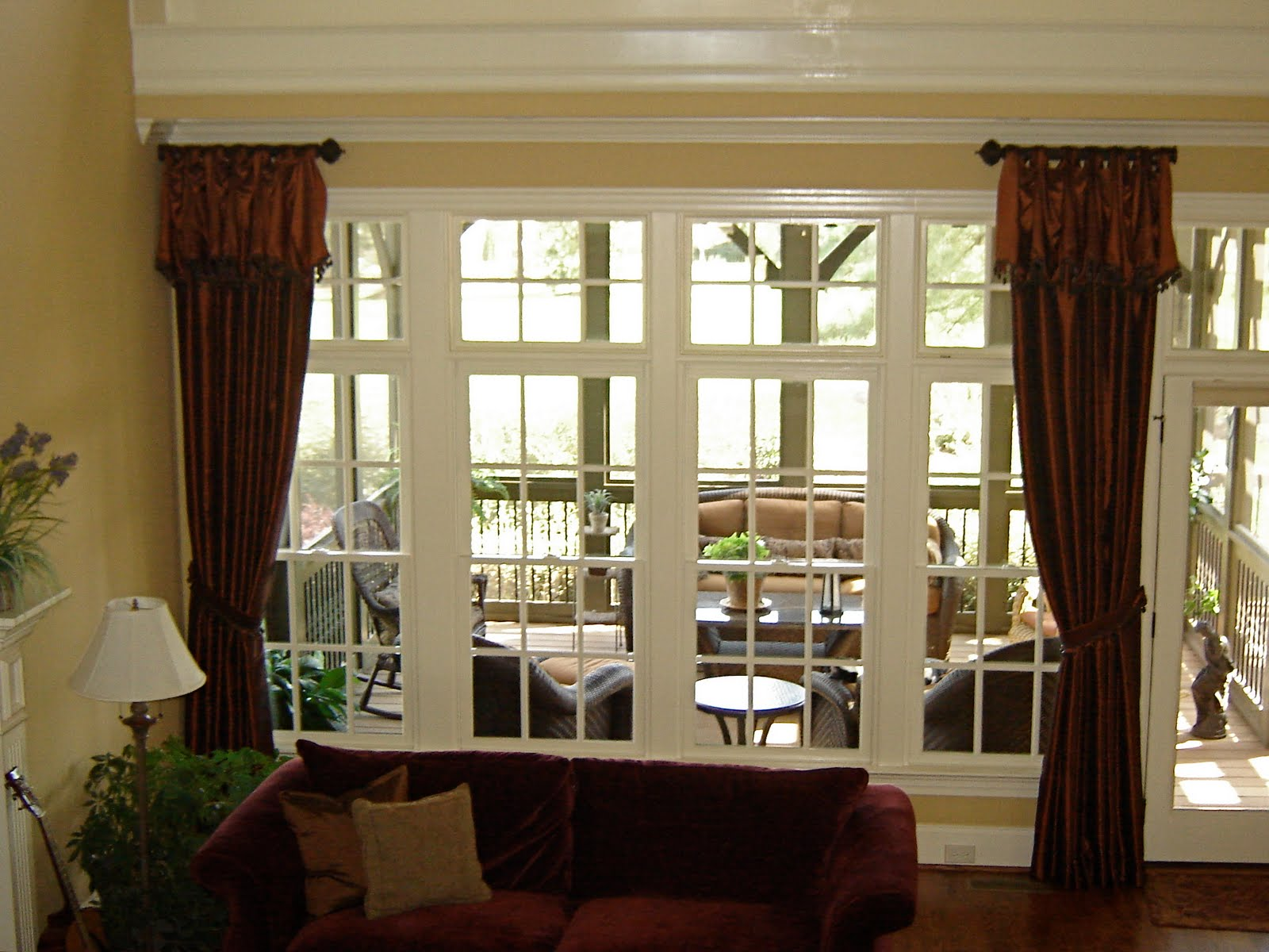 In stitches window treatment ideas for Window treatment ideas