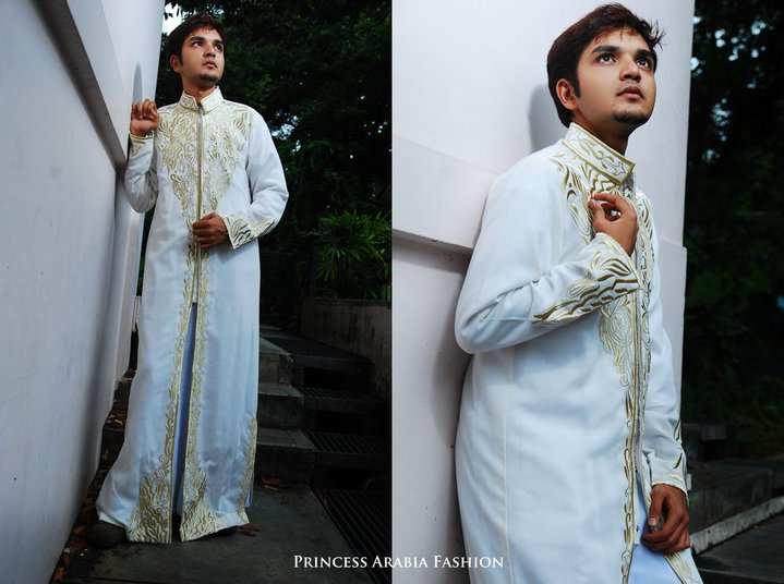 Saudi Arabian Wedding Thobe for Groom Saudi Arabian Wedding Thobe for Groom