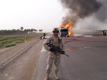 Brad in Iraq
