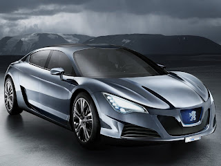 Peugeot - RC Hybrid4 Concept wallpaper