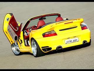 Porsche - GTR 600 Bi-turbo Gullwing
