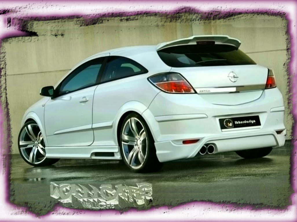 Opel - Astra Tuning ~ Wallpapers Carros