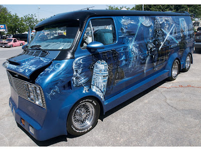 illogical contraption custom vans are sweet. Black Bedroom Furniture Sets. Home Design Ideas