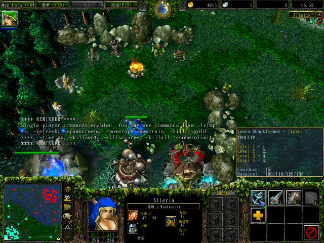Warcraft 3 TFT 1.24f Patch Download Dota Allstars Maps.