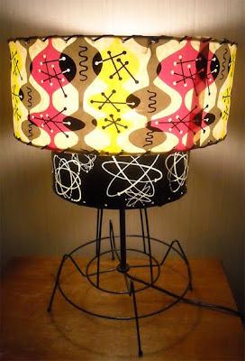 atomic light fixture mid century update on atomic lamp 1950s ranch house
