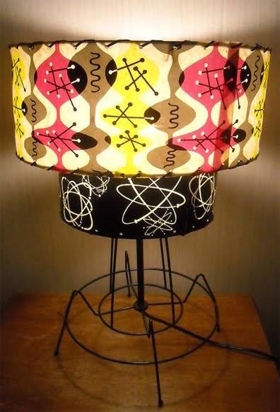 1950 S Atomic Ranch House Totally Bitchin Atomic Lamp