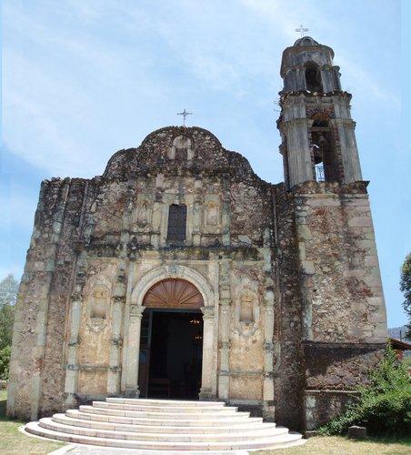 Iglesia de Real de Arriba, Municipio de Temascaltepec
