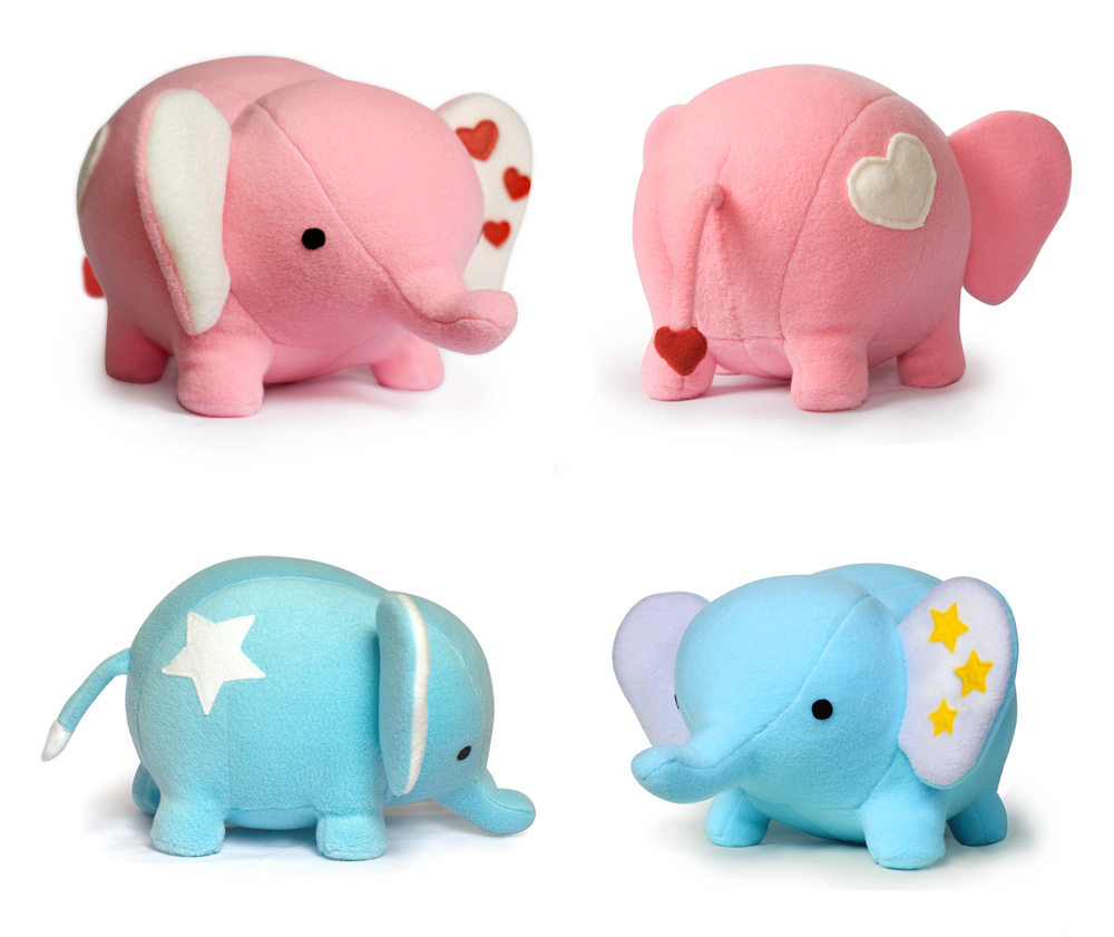 Toy Patterns by DIY Fluffies : Giveaway - Love Elephant sewing ...