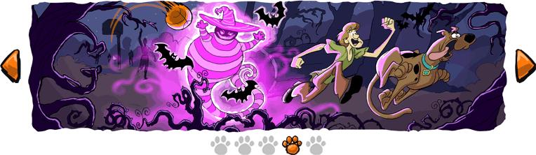 Cuarta Imagen de la tira de Scooby Doo que publico para Halloween
