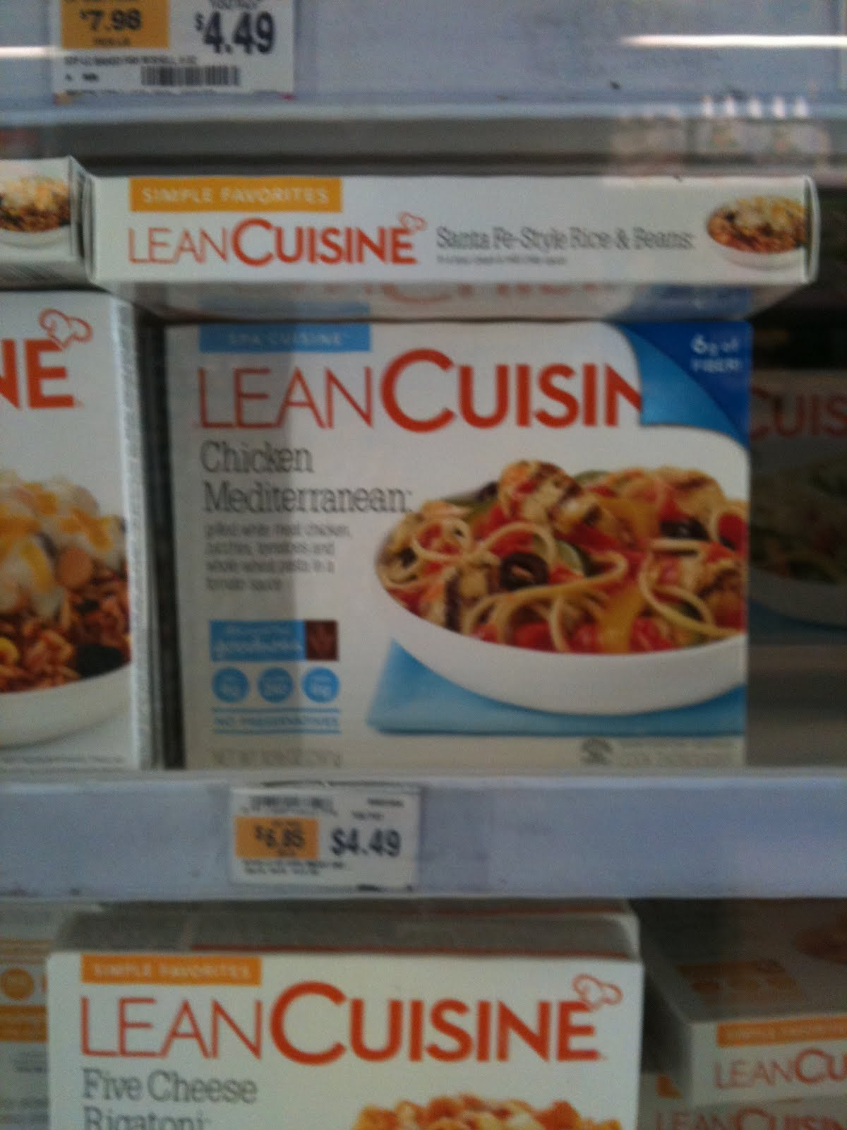 The concrete jungle chronicles clean up on aisle 3 4 for 10 day try it lean cuisine
