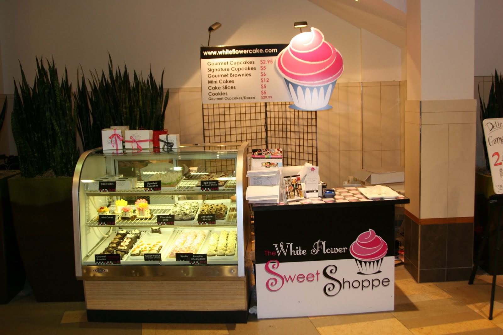 The white flower cake shoppe november 2009 we opened our second location the white flower sweet shoppe at beachwood mall where we sell all of our yummy retail items cupcakes brownies mightylinksfo