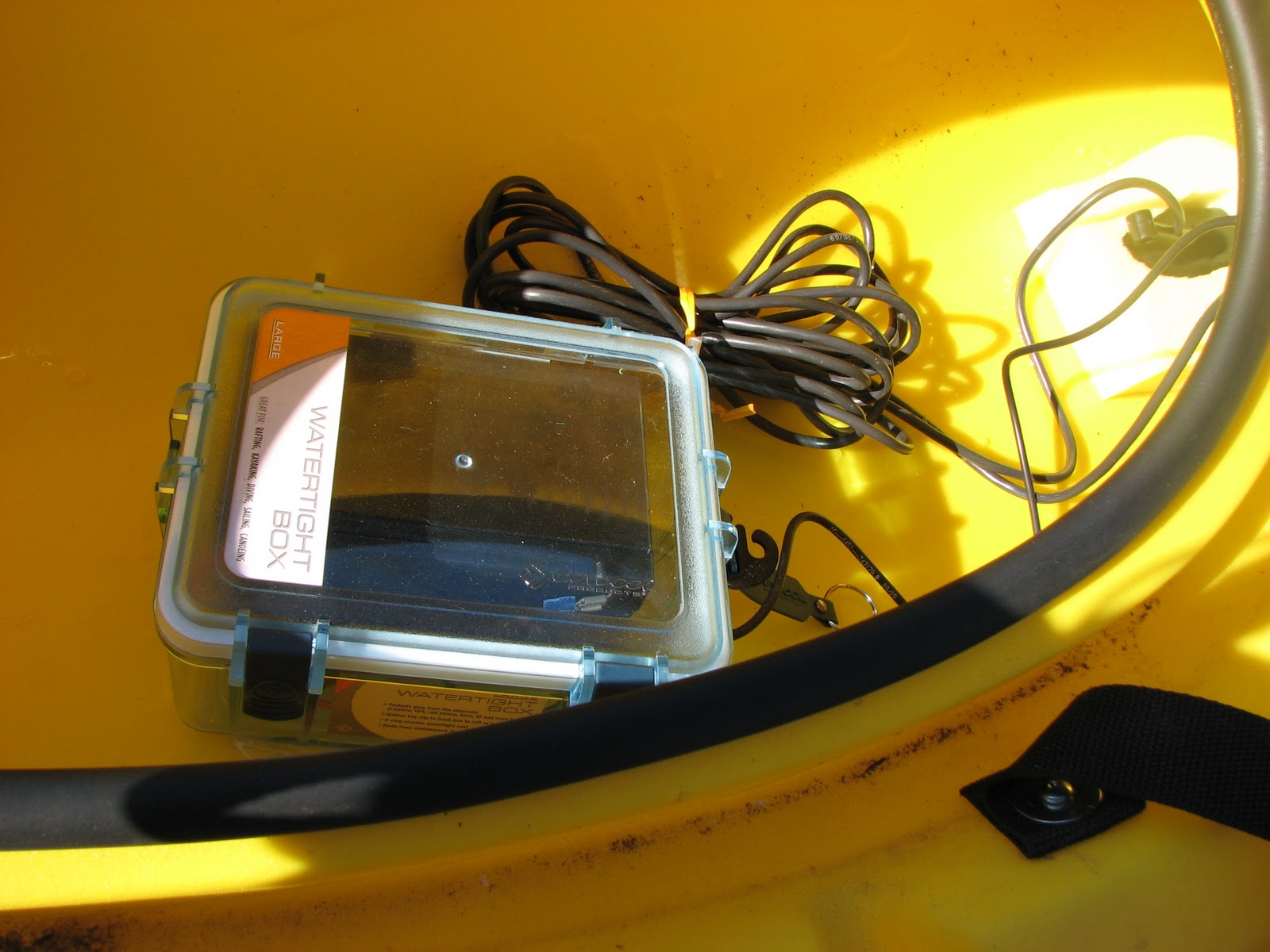 Reflections of a south carolina kayak fisherman my kayak for Fish finder on kayak