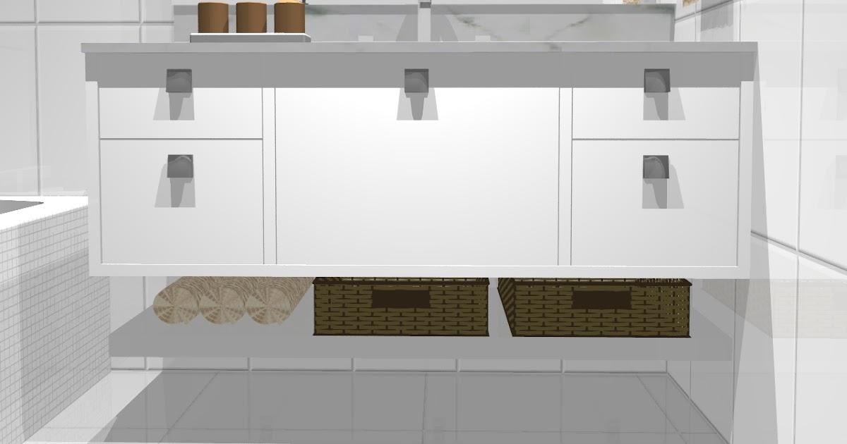 Carolina Lira Design de Interiores BANHO COM BANHEIRA -> Banheiros Planejados Sca