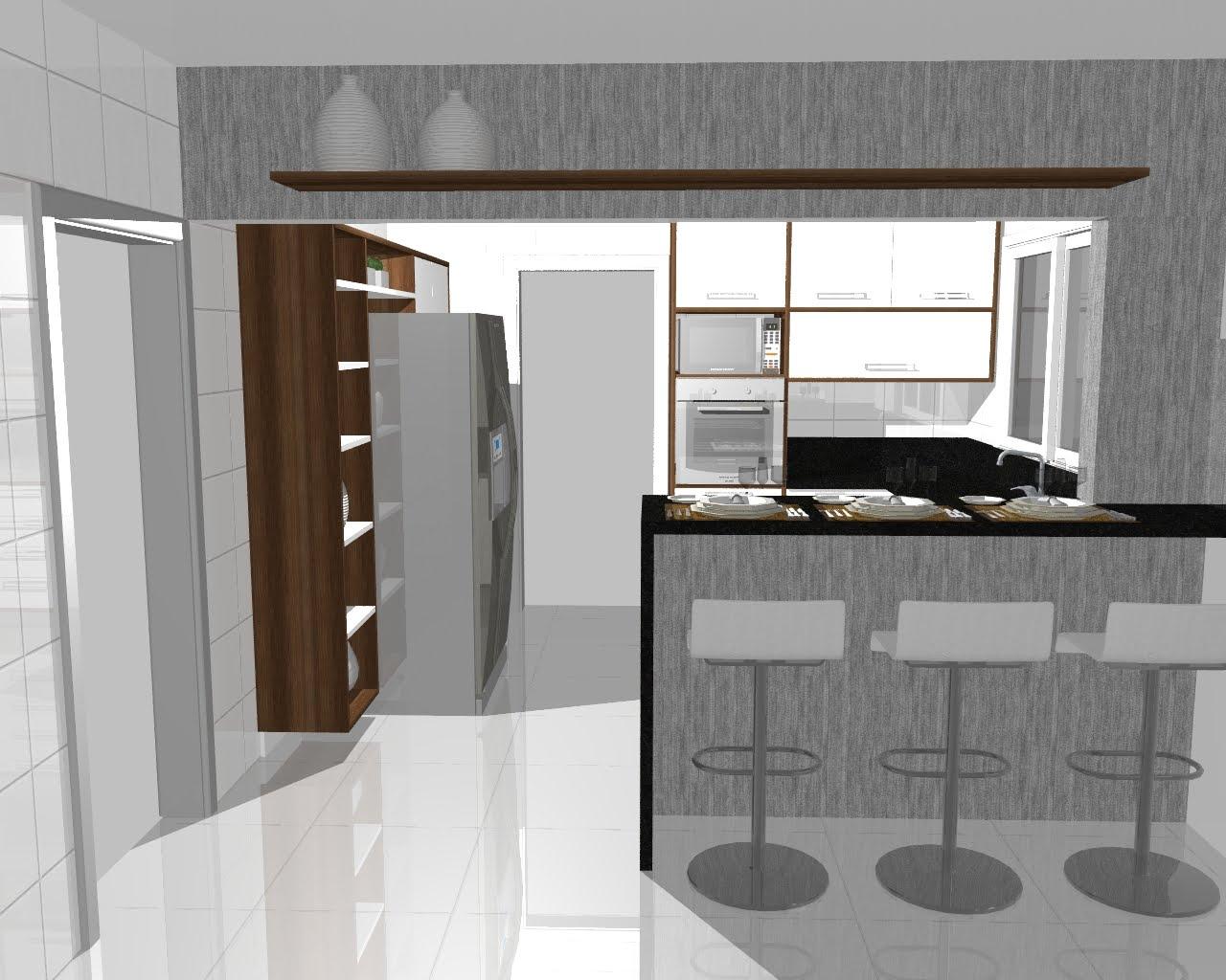na cozinha cozinha integrada cozinha planejada móveis planejados #456033 1280 1024