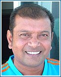 Ramji Srinivasan (Trainer, Mumbai Indians Team) IPL Cricket Team