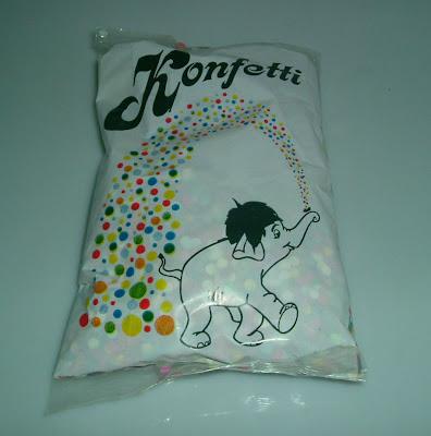 Elefántos konfetti