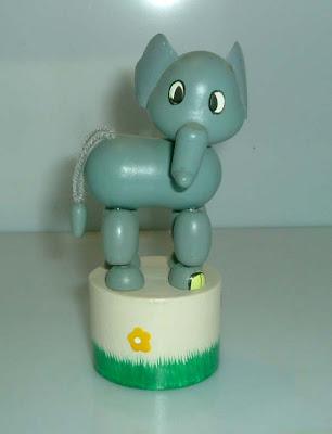 Retro elefánt