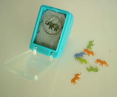 Sok kis papír elefánt