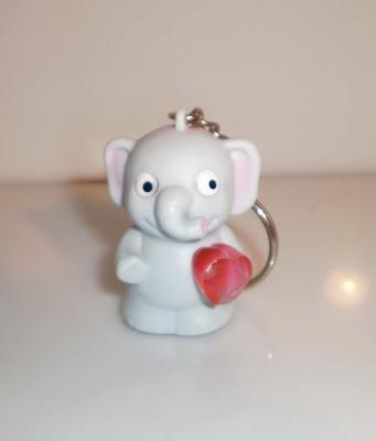 Elefánt kulcstartó