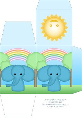 Kis elefántos dobozka