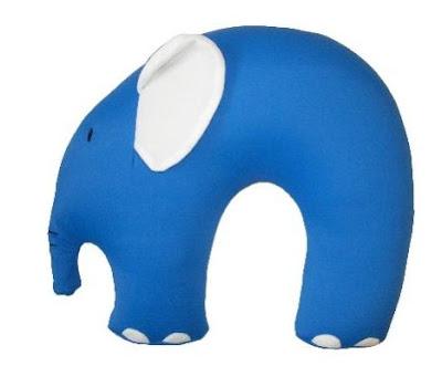 Elefántos nyakpárna