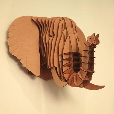 Papirból elefánt