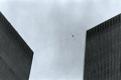 Twin Towers Tightrope walker