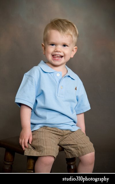 child's portrait at studio 310 photography smithfield nc