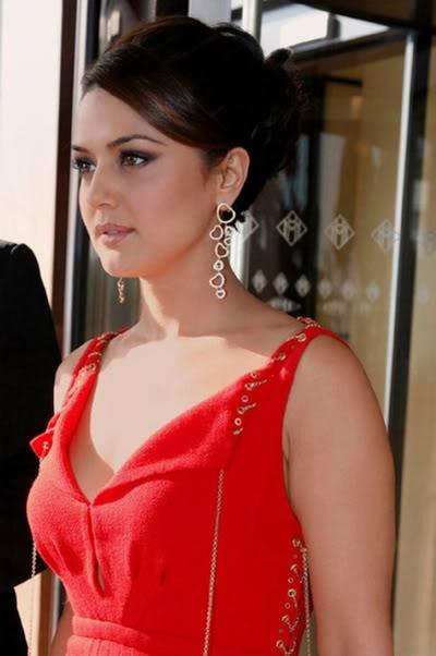 Preity Zinta blue film