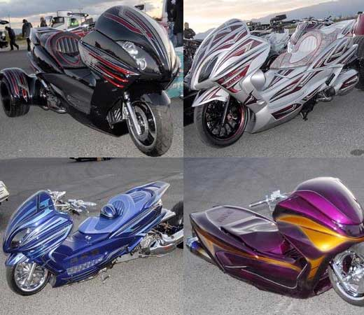 Japanse Extreme Modification Design Body Car