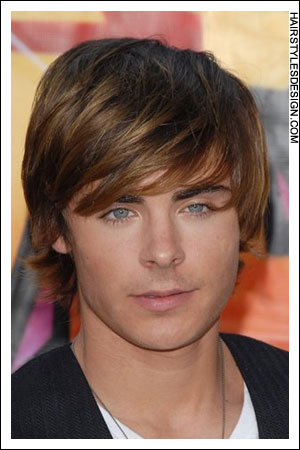 men straight hair-medium hair cuts styles