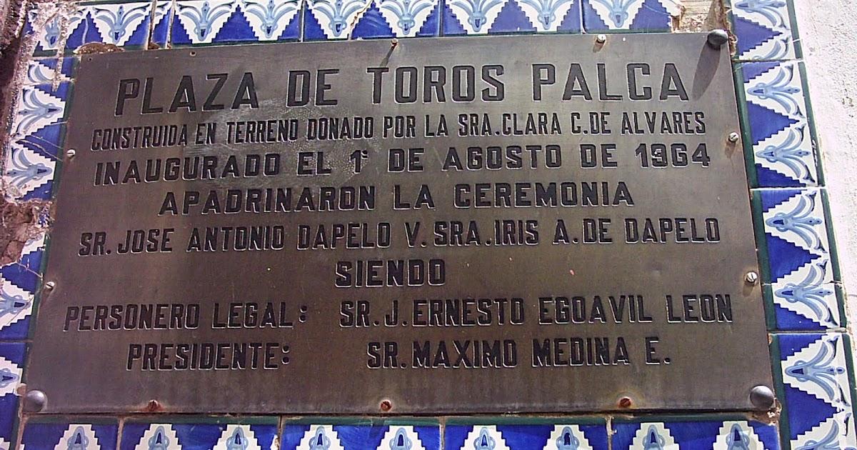 Plaza De Toros Palca Corridas De Toros Bajo El Reglamento