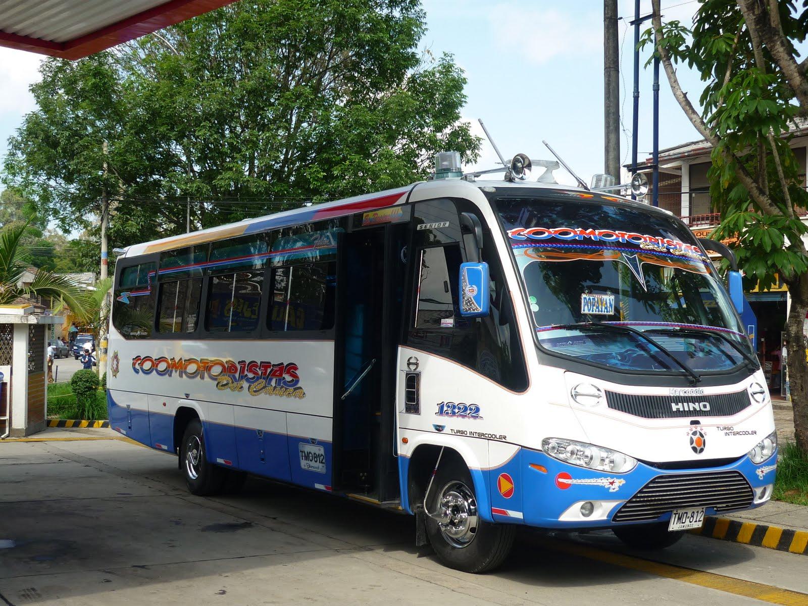 Servicio de transporte r r busetas para excursiones - Servicio de transporte ...